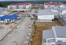 KTMB STAFF QUARTERS & TRAINING CENTRE, BATU GAJAH