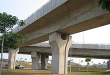 BRIDGE OVER ERL, PRESINT 7, PUTRAJAYA