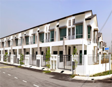 SAUJANA PERMAI DOUBLE STOREY TERRACE HOUSE